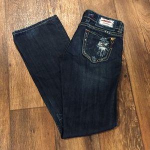 MEK Denim Capetown Bootcut 27 Dark Wash Jeans